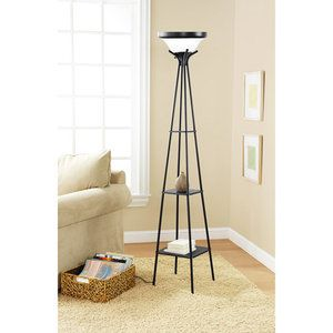 Mainstays Etagere Floor Lamp, CFL Bulb Included ... this one or ...