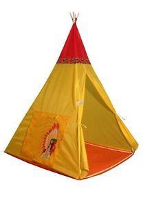 Girls Boys Teepee Wigwam Play Tent Childrens Kids Pop Up Indoor Outdoor Castle  sc 1 st  Pinterest & Childrens Kids Baby Pop Up Play Tent Fairy Girls Boys Playhouse ...