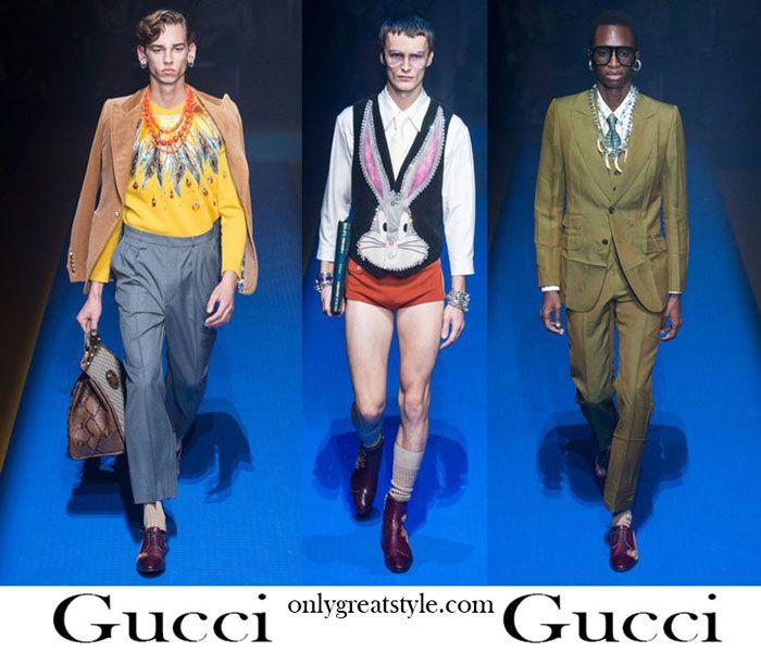 b1a1be3d8 Clothing Gucci spring summer 2018 men's fashion. | Ideas | Gucci ...