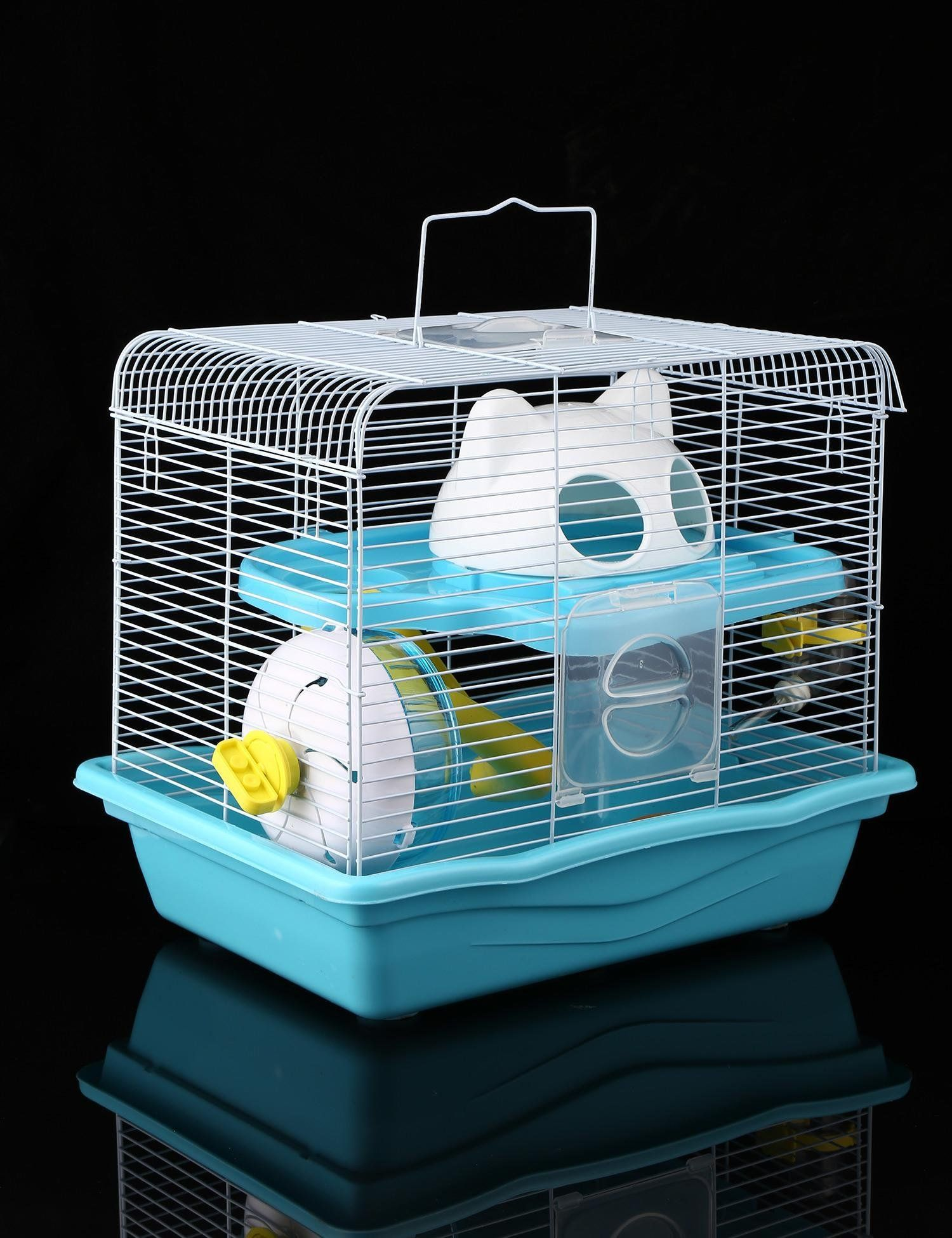 Dwarf Hamster Cage Haven Pet Products Double Layers Blue Review Extra At The Image Web Link This Is A Small Animal Cage Dwarf Hamster Cages Hamster Cage