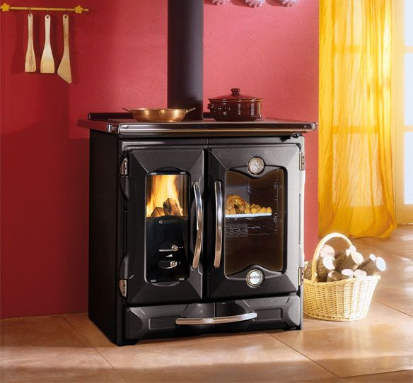 Woodburning Cookers Mamy La Nordica Extraflame Legno