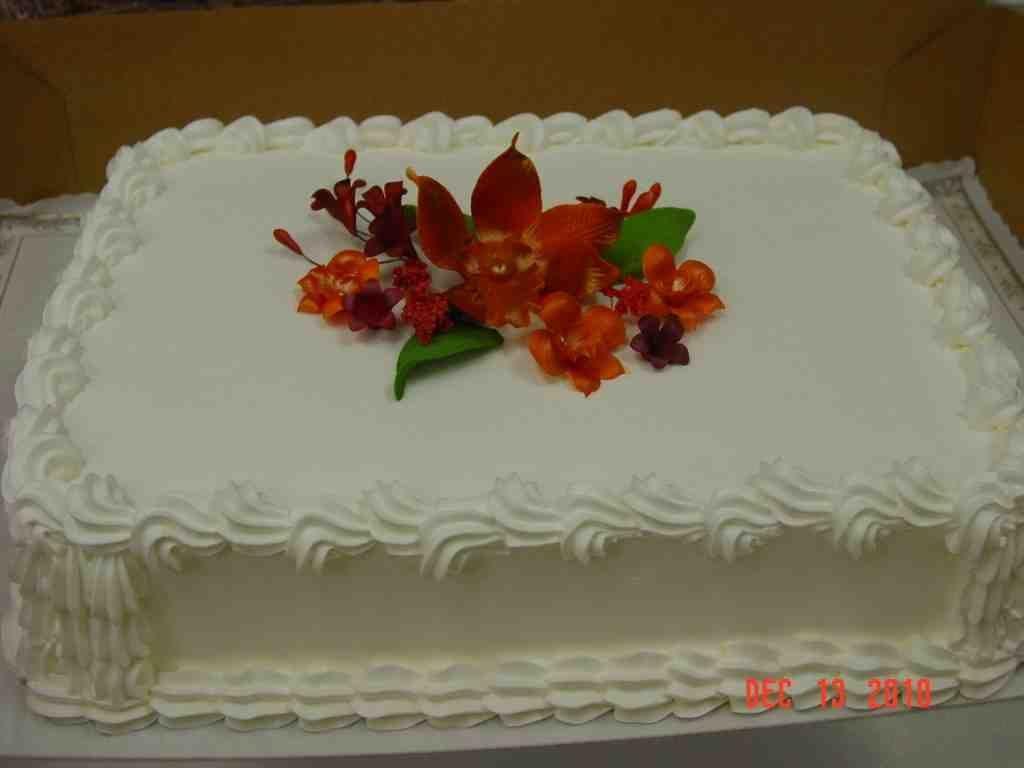 Wedding Sheet Cake Ideas