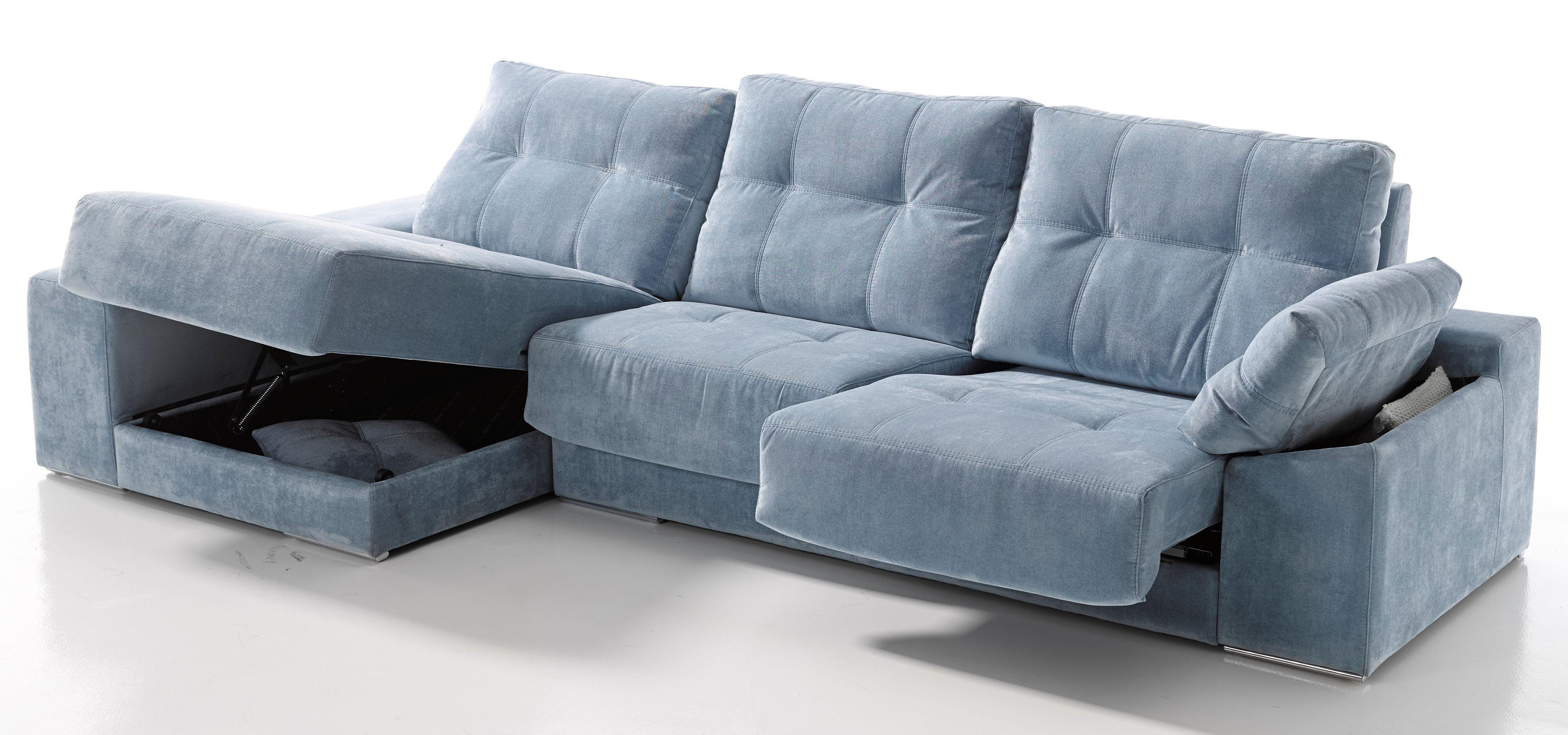 Sofá 3 Plazas 298 Cm Asientos Deslizantes Con Arcón Respaldos Deslizantes Brazo Con Arcón Modul Living Room Sofa Design Vintage Style Sofas Sofa Set Designs