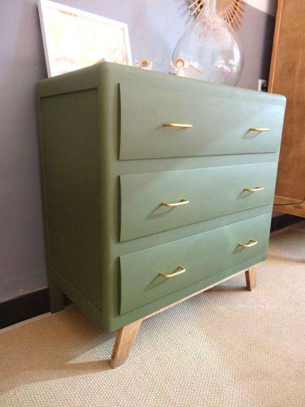 commode des ann es 50 banaborose reinventeur de meubles et objets chin s mobilier vintage. Black Bedroom Furniture Sets. Home Design Ideas