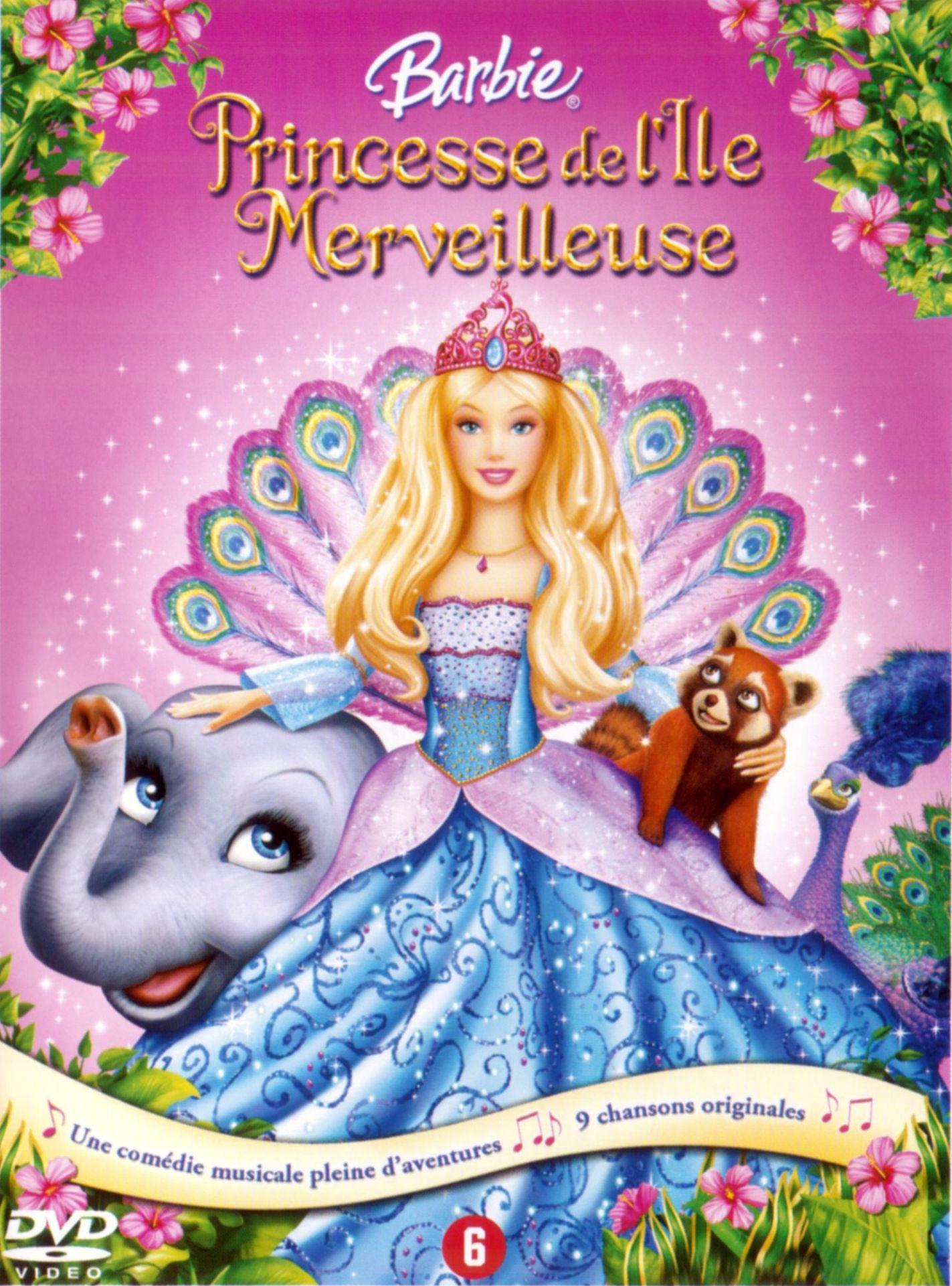 Barbie Princesse De L Ile Merveilleuse Film De Barbie Film Princesse Barbie