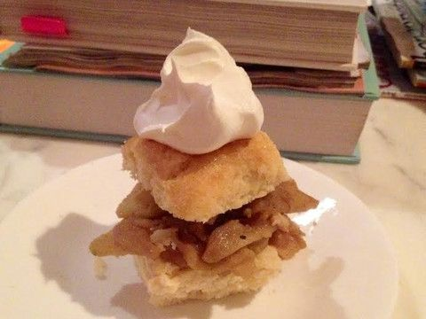 Callies Charleston Biscuits - Buttery Bourbon Apple Shortcakes