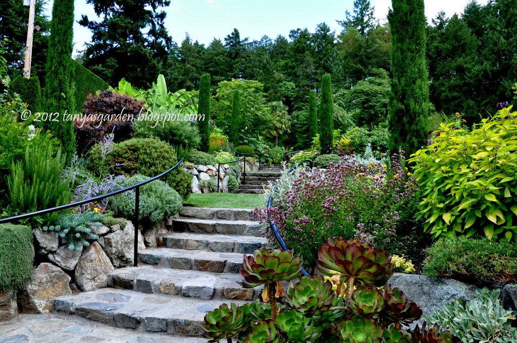 Mediterranean Garden At The Butchart Gardens