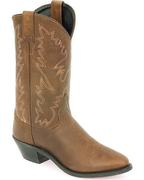 howtocute.com old west distressed leather cowgirl boots (01 ...