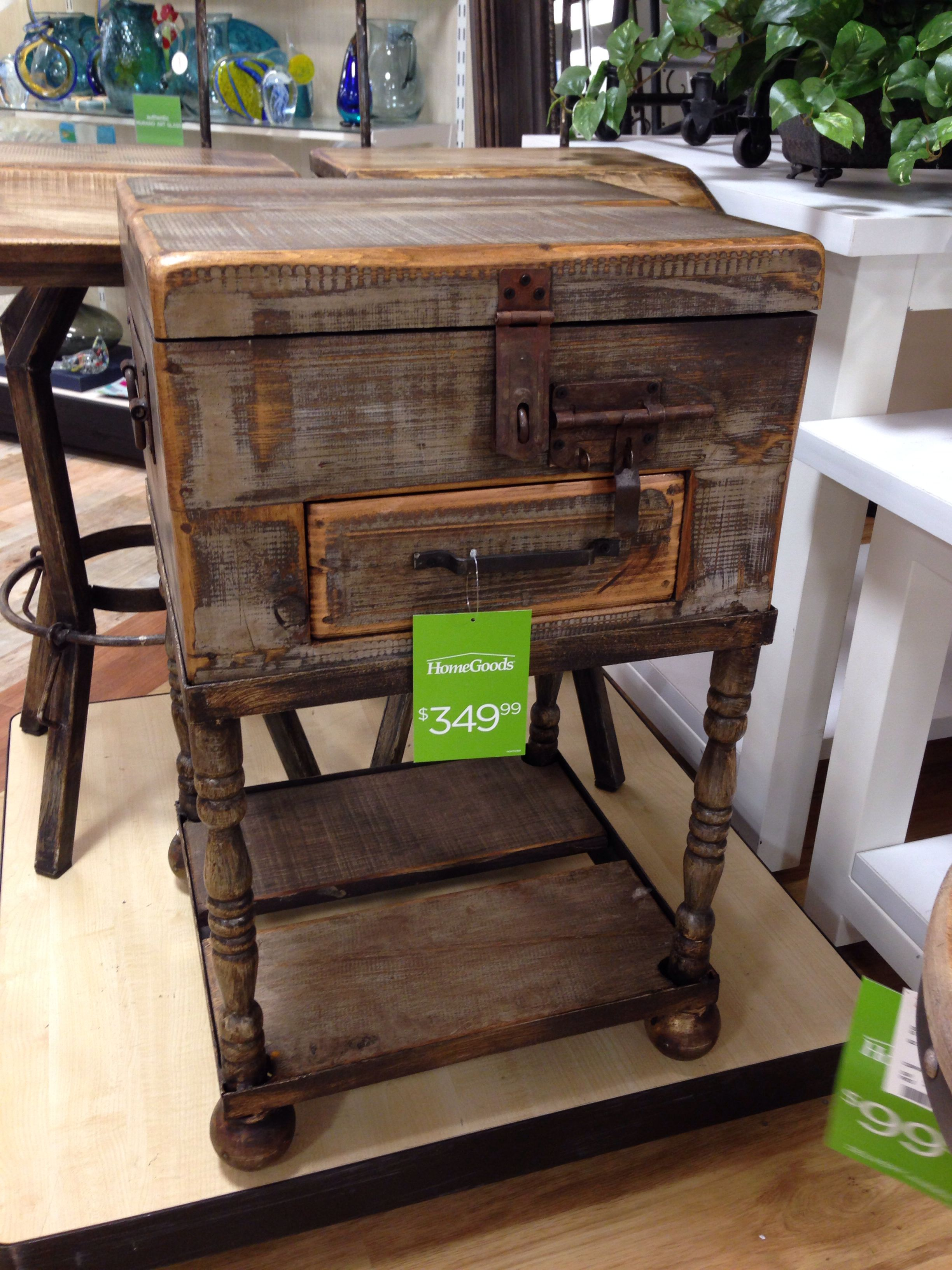 Rustic End Table Rustic End Tables Home Goods Store