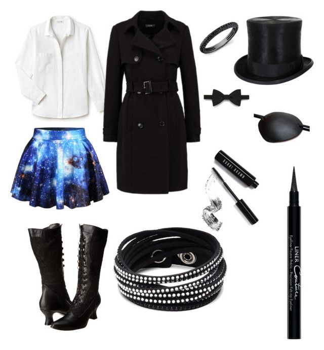 """""""Gwen Cipher"""" by queenofkawaiiness13 ❤ liked on Polyvore featuring Lacoste, Gieves & Hawkes, WithChic, Ellie Shoes, Masquerade, Bobbi Brown Cosmetics, Givenchy and Swarovski"""
