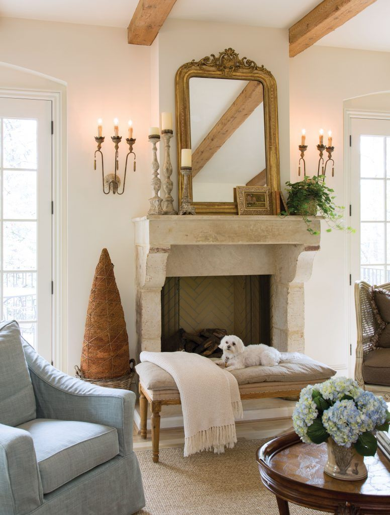 charming french country modern living room | French Country Charm Down South 35+ Charming French ...