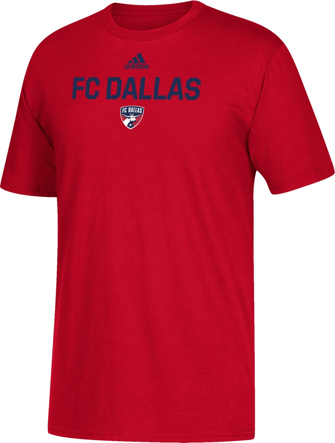 72912090b6d adidas Youth FC Dallas Big Logo Red T-Shirt in 2019 | Products ...