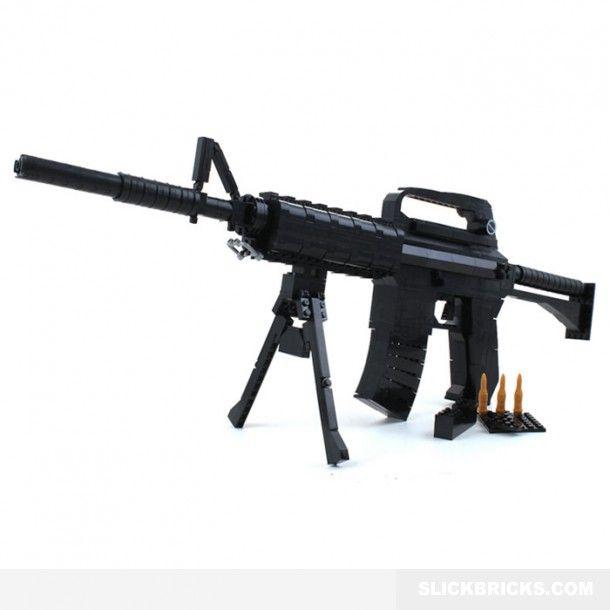 M16 Assault Rifle Lego Compatible Cool Lego Sets Pinterest