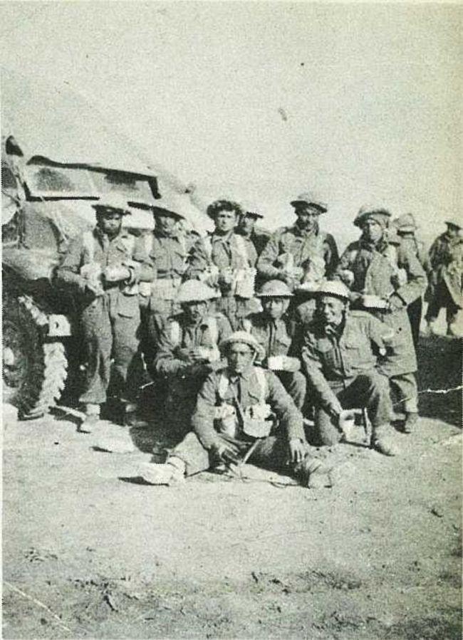 Photo of C Coy Boys In Winter Desert Kit.. | 28th Maori Battalion