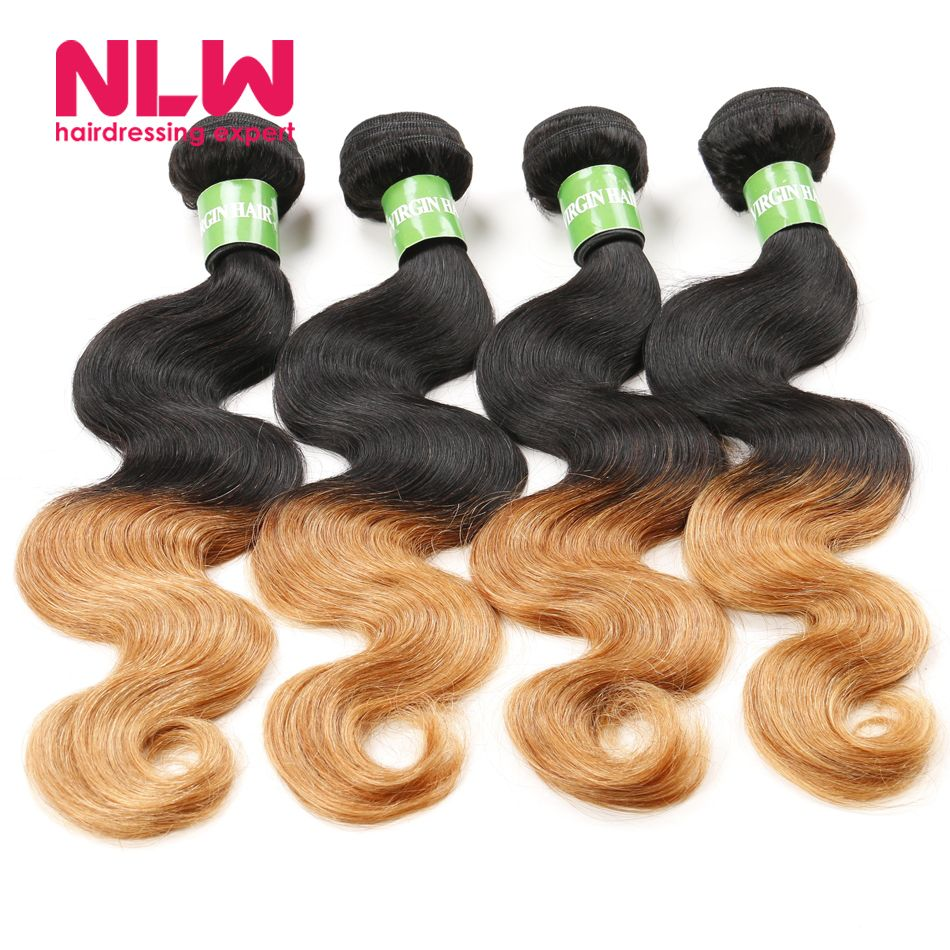 Buy Ombre Peruvian Human Virgin Hair Extension Deals For Short Hair