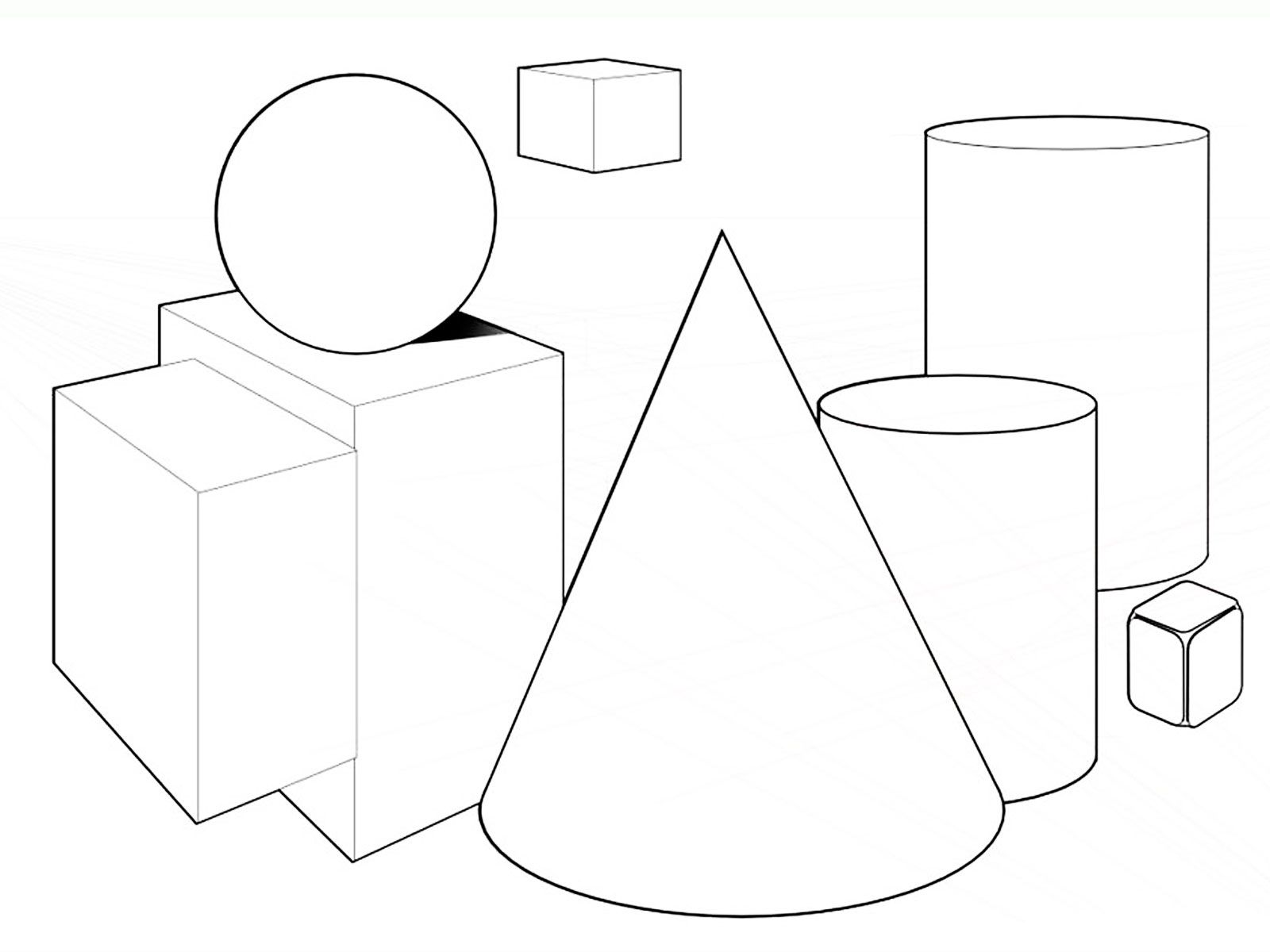 Grab Your New Coloring Pages Shapes Download