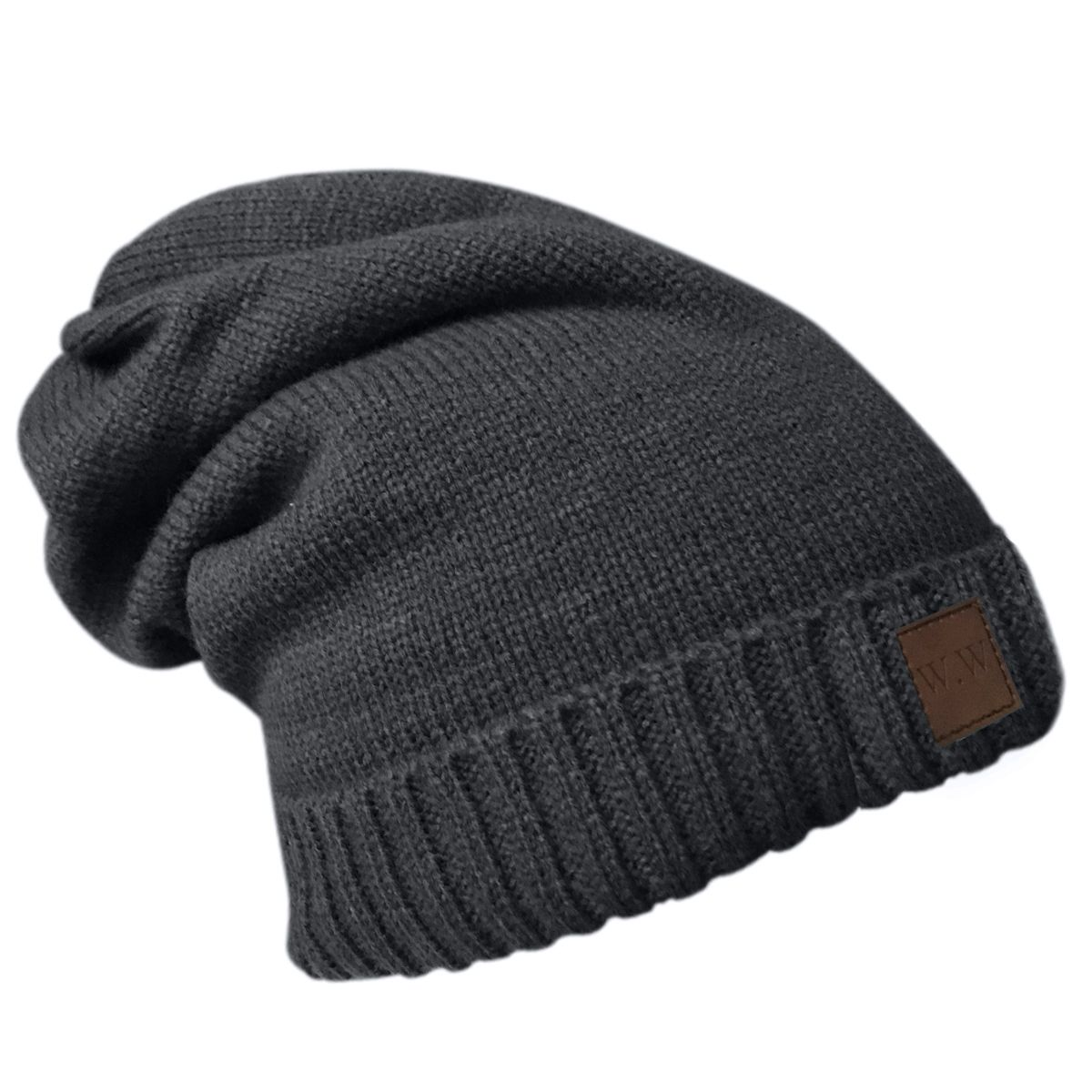0f35c02debc Our Charcoal Grey Beanies  Classy. Understated. Versatile. Perfectly  unisex. Our premium fleece lined hats are made from 100% premium acrylic  knit with a ...