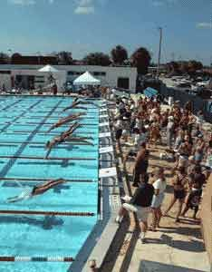 The Community Swimming Pool At Cocoa Beach Country Club 50 Meter