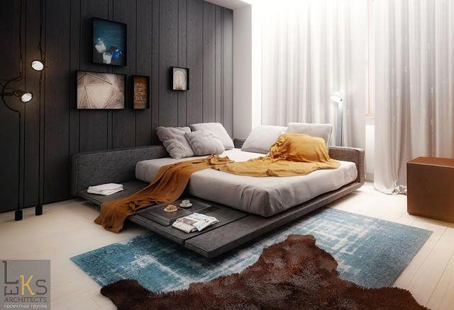14 Decoracion de habitaciones modernas para hombres