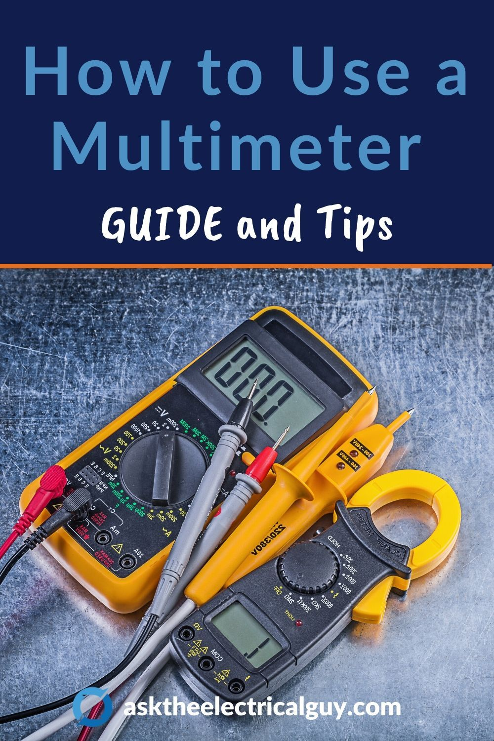 How to Use & Read a Multimeter