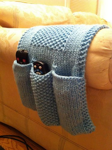 Ravelry: Cathct's Remote Control Caddy   Crochet organizer ...