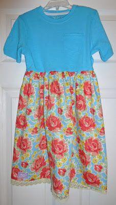 Sew Delightful: T-Shirt Dresses