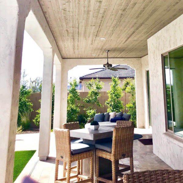Top 50 Best Patio Ceiling Ideas