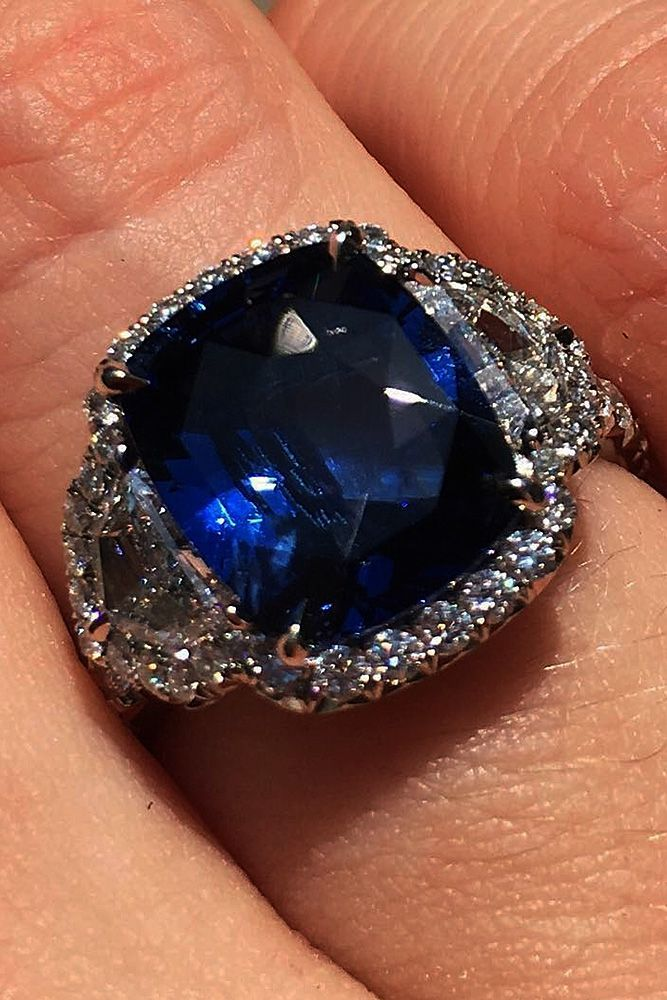27 Magnificent Sapphire Engagement Rings Modern
