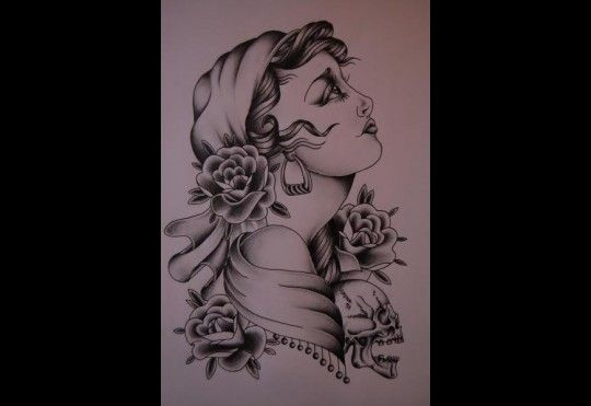 I'm amazed by the crisp lines and the profoundly perfect shading...ON SKIN. Amazing tatto artist.