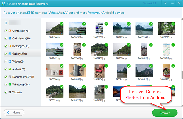 How To Recover Deleted Photos From Any Android Phone Recover