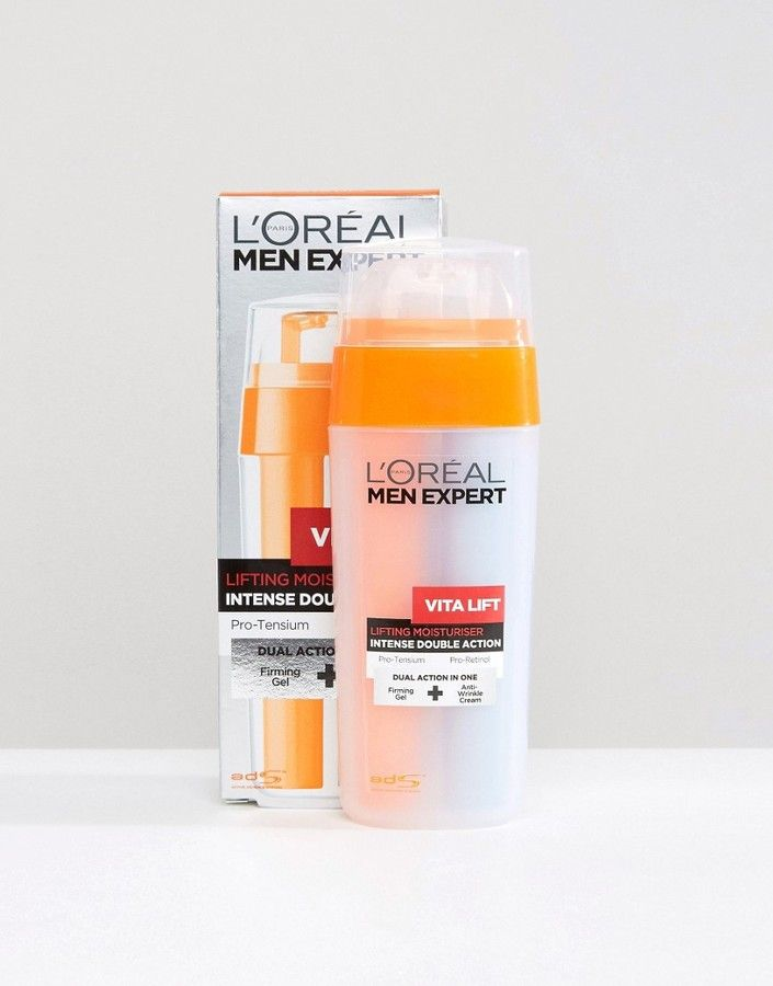 L Oreal Paris Men Expert Vita Lift Double Action Moisturizer 30ml Designed To Combat The Appearance Of Wrinkles Helps To Loreal Paris Loreal Mens Skin Care
