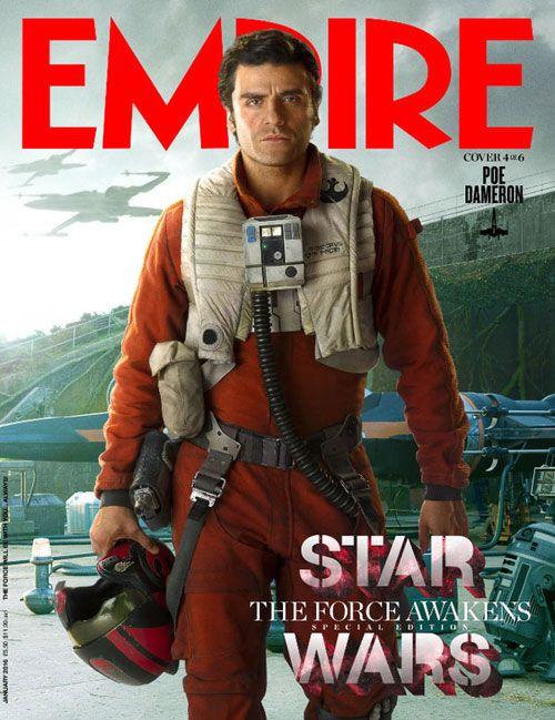 STAR WARS; THE FORCE AWAKENS Movie PHOTO Print POSTER Poe Dameron Oscar Isaac 12