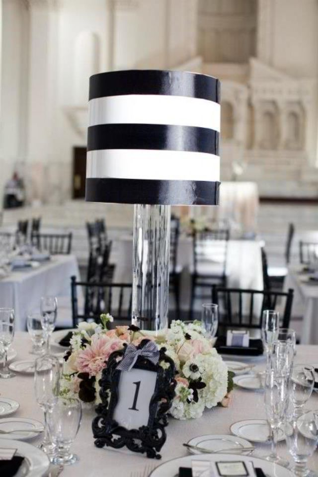 """5"""" Black & White Pleated Empire Chandelier Lampshade ...   Black And White Lamp Shades"""