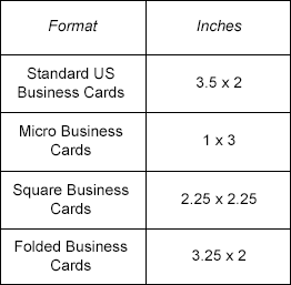 Biz card sizes 2015 04 20g 262257 cool stuff pinterest what is the standard business card size colourmoves