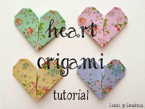 Primadona's Notes: [Tutorial] Heart Origami