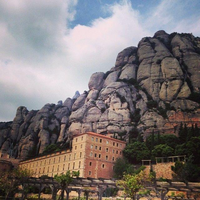 Monasterio De Monserrat, Catalunya (Spain)
