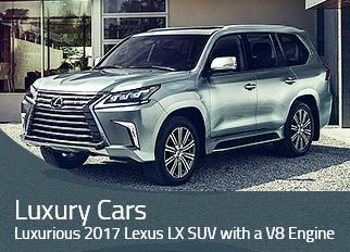 The 2017 Lexus Lx Luxury Suv Comes With A 383hp Producing 5 7 Litre V8 Engine And Has Combined Estimated Fuel Efficiency Of 15 Mpg Uae
