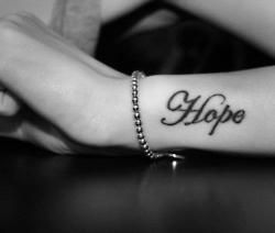 #tatoo   hope