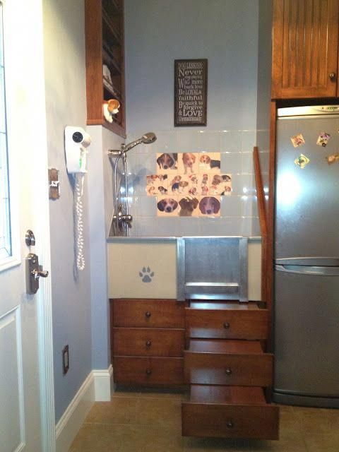 dog kennel mudroom dogkennelmudroom Dog washing station