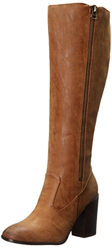Sbicca Women's Oboe Boot, Tan, 6.5 B US Sbicca-$71.97
