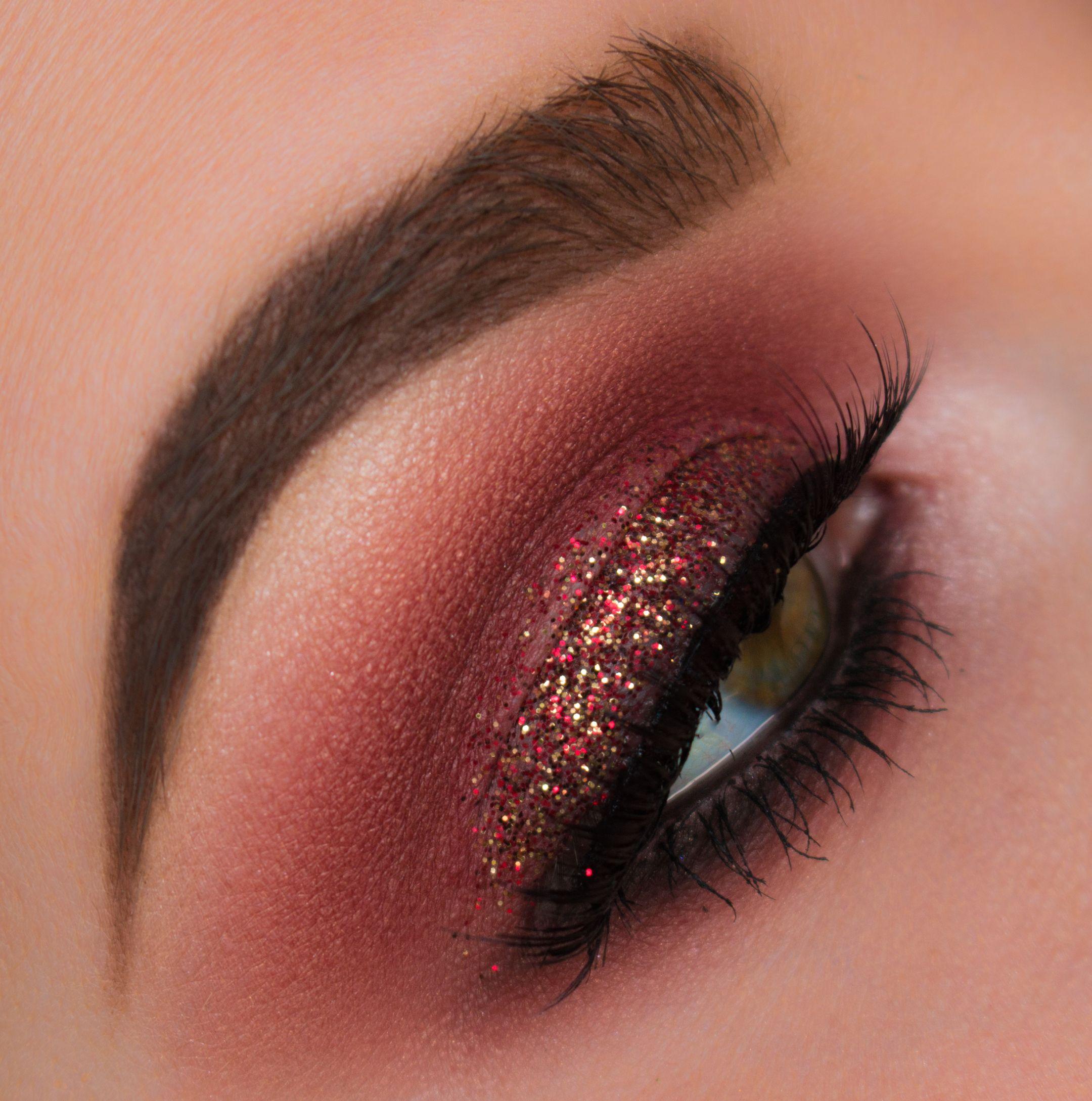 Burgundy Red Smokey Eye Makeup Tutorial Makeup Geek Makeup