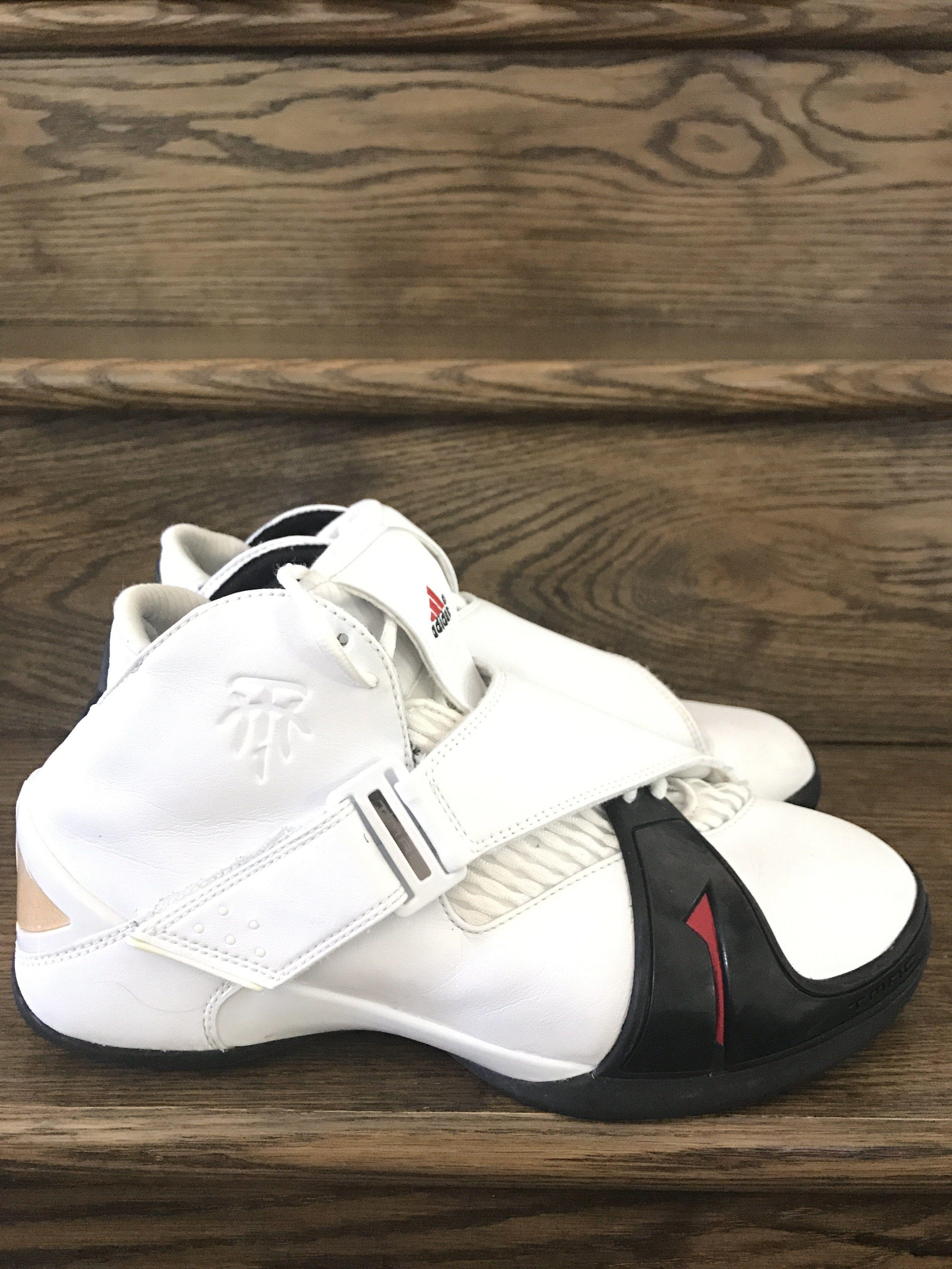 84a916cc8379c8 Mens VTG 2005 Adidas T-Mac 5 Basketball Shoes Sz. 10 ID  809942 ...
