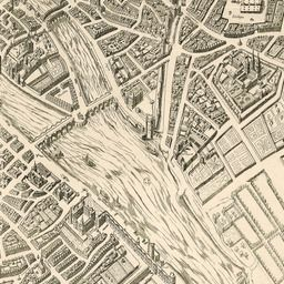 Map of Paris 1609 | Old Maps of Paris