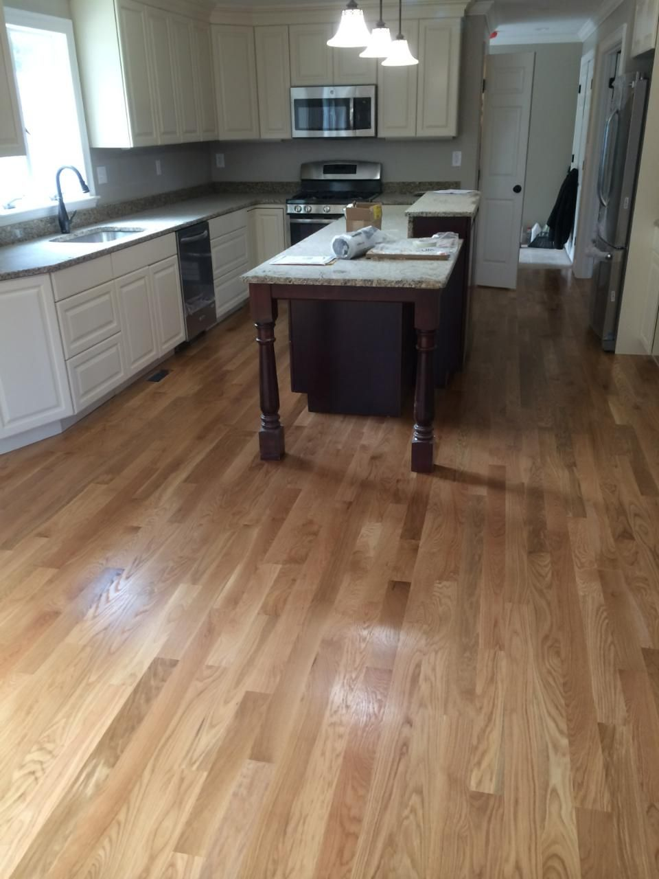 Shaw Floors Lucky Day 3 1 4 Solid Hickory Hardwood Flooring In Rustic Natural Hickory Hickory Wood Floors Solid Hardwood Floors Wood Floors Wide Plank