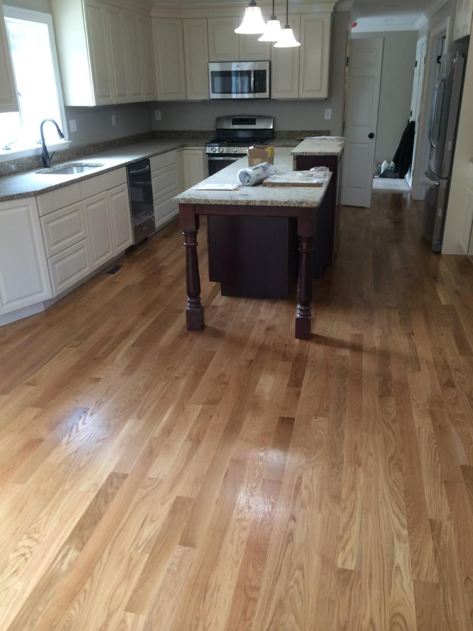 3 1 4 White Oak Hardwood Floors In Harvard Ma White Hardwood Floors White Oak Hardwood Floors Engineered Wood Floors