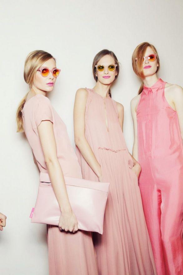 shades or pink