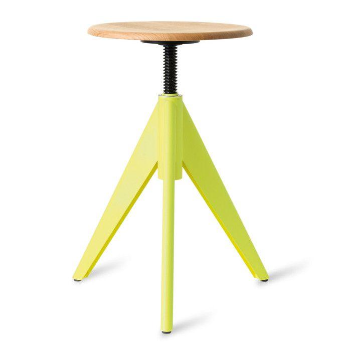 Hocker Atelier Chair Niedrig Gelb Ral 1026 St Hle