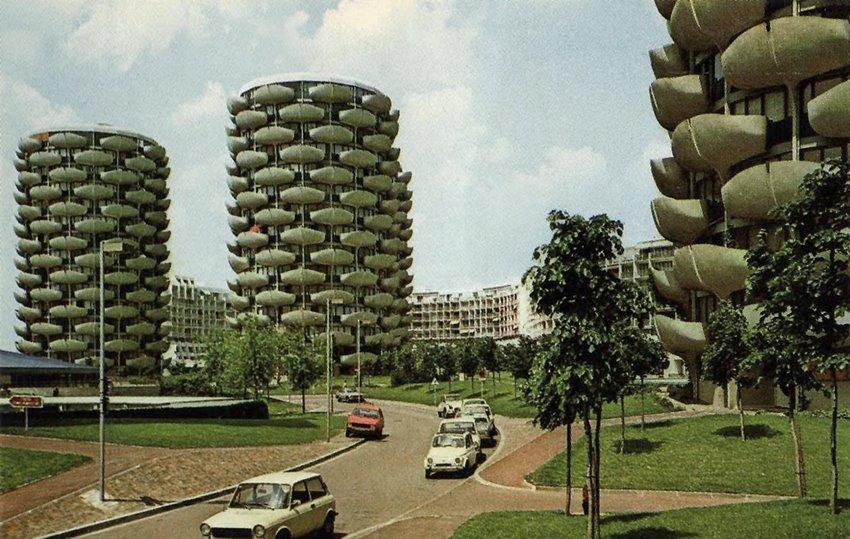 Gerard Granval Creteil 1974 Architecture Architecture Images Paris Suburbs