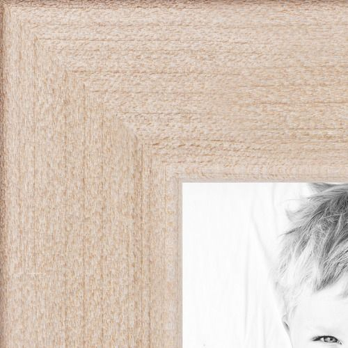 14x16 Clear Stain on Maple picture frame with Regular Glass ...