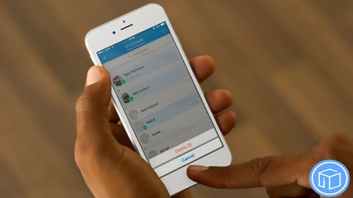Recover lost contacts from iPhone image by Ada Miao ...